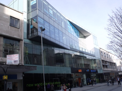 New retail development on High Street, Birmingham - Coming soon a New Electrical Store