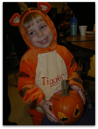Proud little Tigger