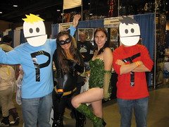 Terence and Philip meet Catwoman and Poison Ivy
