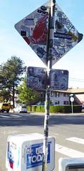 Infowars - Portland, Oregon (SKAM sticker) Tags: streetart oregon portland graffiti stickerart stickers oddio skam infowarscom starheadboy itsaconspiracy mrsay newcolony johnnytragedy