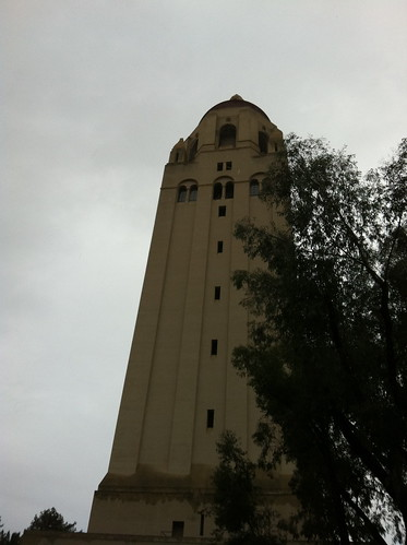 Stanford in the Rain