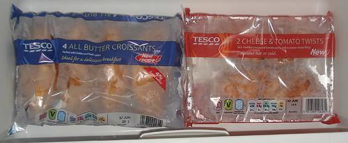 Freezer Compartment Contents - Bottom Shelf