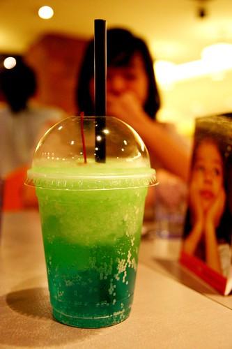 Radioactive drink