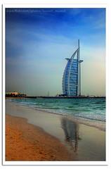 Burj Al Arab (Hussain Shah.) Tags: summer beach d50 hotel nikon dubai uae sigma burjalarab hdr 2007 burj alarab 28105mm   aplusphoto