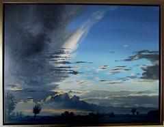 Dunkle Wolken ber Magleby (dirkgue) Tags: abend himmel wolken landschaft danmark nordsee ostsee acryl malerei norddeutschland leinwand gemlde realismus realistisch dirkgnther