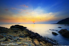 Scenery@Taiwan (Fishtail@Taipei) Tags: sunrise taiwan keelung supershot aplusphoto