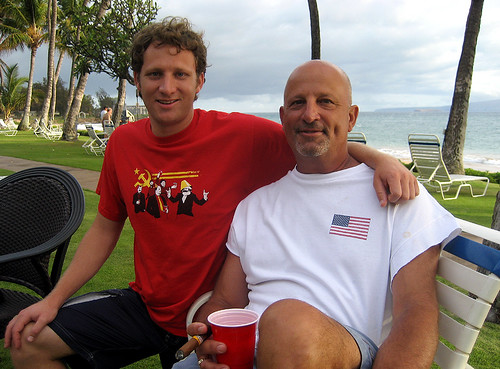 My Dad and I on the 4th of July