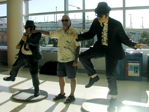 Michael with the Blues Brothers