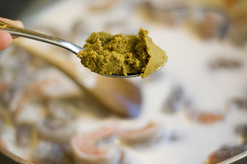 green curry paste....sooooooooo lazy