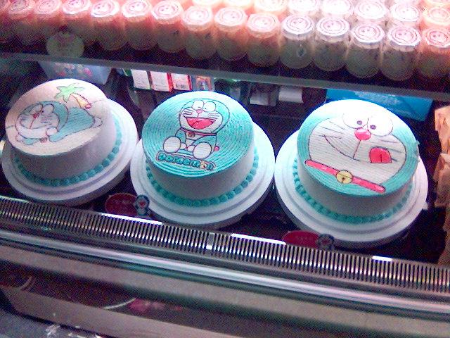 哆拉A夢蛋糕