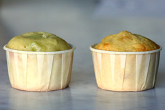 Honeydew and Cantaloupe Cupcakes