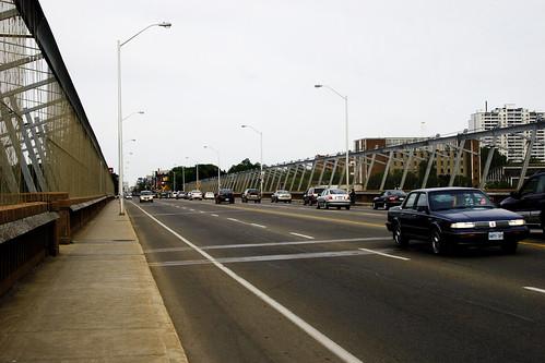 past this bridge...