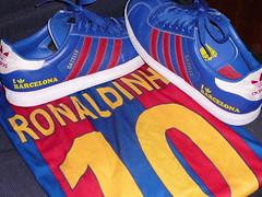 Adidas Gazelles - I love Barcelona