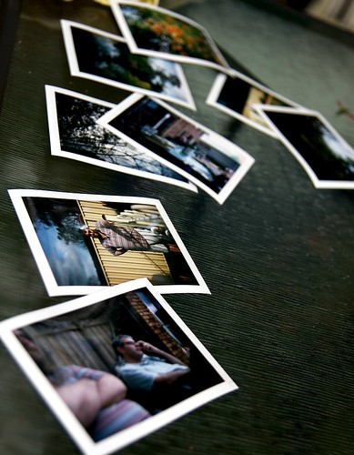 Photos on Table