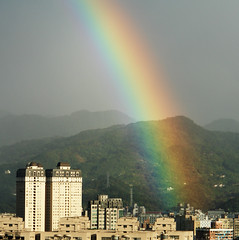 Rainbow (smallchih) Tags: rainbow sony taipei r1 dscr1