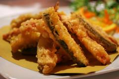 fried veg, looked like tempura