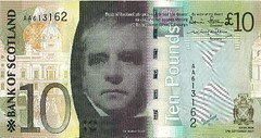 Bank of Scotland £10 Banknote