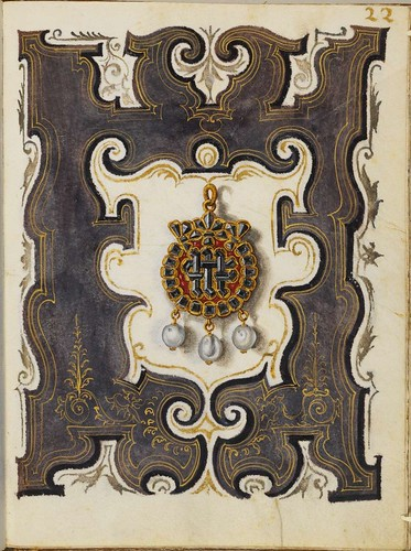 Jewel Book of the Duchess Anna of Bavaria (1550s) e