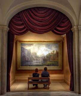 Watching Bierstadt