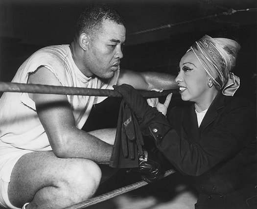 Joe Louis and Josephine Baker