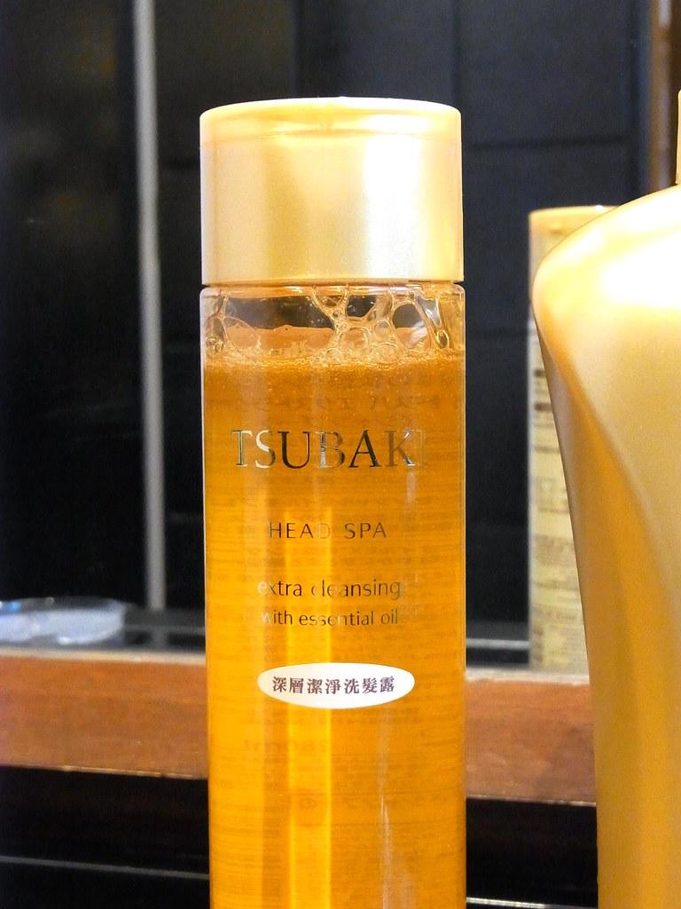shiseido tsubaki head spa