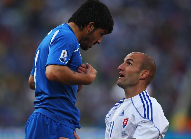 Italia Eslovaquia de Fútbol Sudáfrica