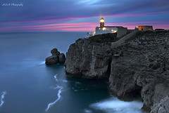 The End (Alessandro S. Alba) Tags: light lighthouse portugal last faro cabo san tramonto alba vincent algarve sao capo alessandro sagres