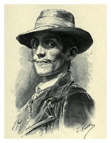 006-Un hombre de Zicavo-The forgotten isles…1896-Frederic Breton
