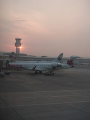 Sunrise at Pearson Int'l Airport