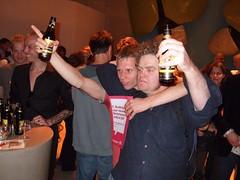 De winnaar met Eus (vandenb) Tags: bernard eus bernardwesseling buddinghprijs