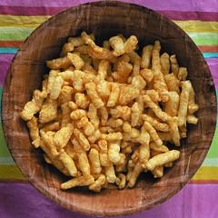 cheese puffs (dogwelder) Tags: california orange snack squaredcircle squircle zurbulon6 sarasbirthdayparty eaglerock cheetohs cheesepuffs zurbulon gatturphy