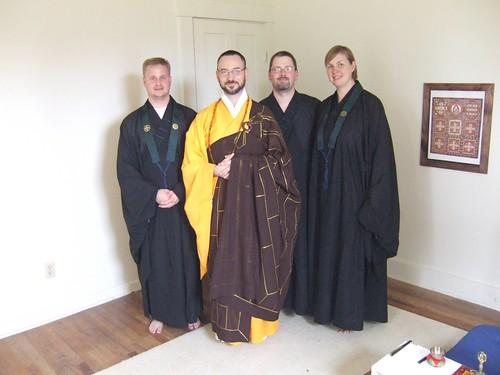 Rev. Jiun and Students