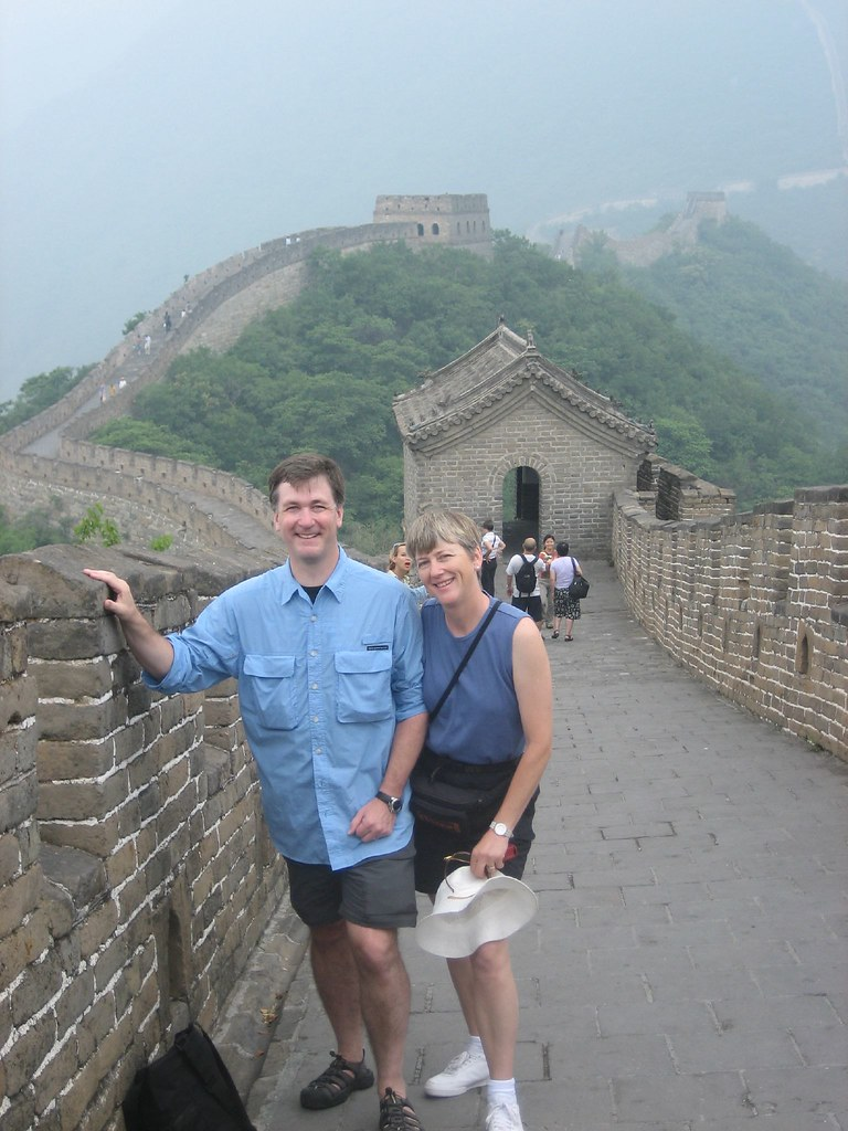 Me and the Mrs. on the Great Wall