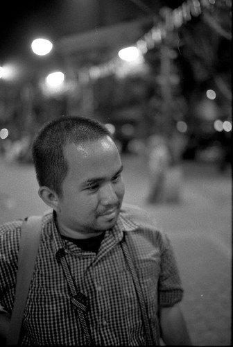Me, Shot by Leica M6