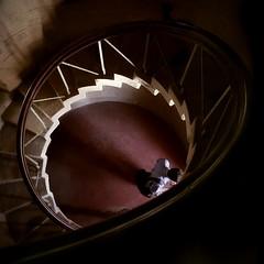 Exit (Asad K) Tags: pakistan lighthouse stairs island deleteme10 karachi sind sindh manora manoraisland