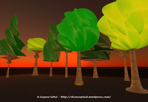 Sculpted Trees 001
