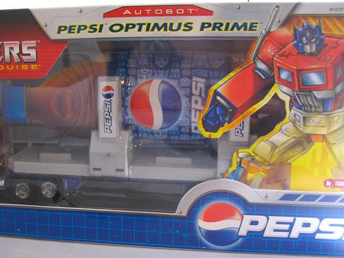 Hasbro Pepsi Optimus Prime