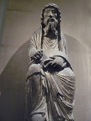 Limestone Sculpture of the Old Testament Pries...