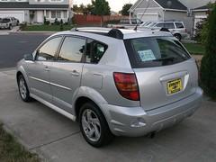 2006 Pontiac Vibe - Rear Driver's Angle