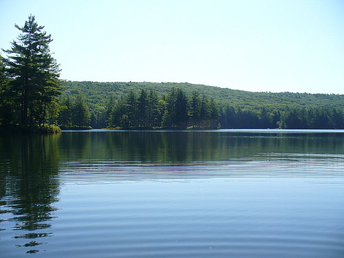 Wading ripples