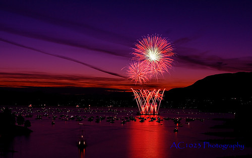HSBC Celebration of Light 2007 PC Widescreen Wallpaper by ACPhoto2007.