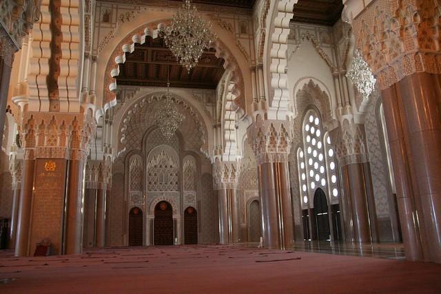 main prayer area