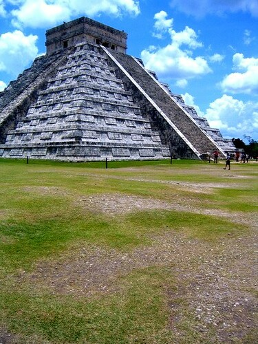 The Castle of Chichen Itza