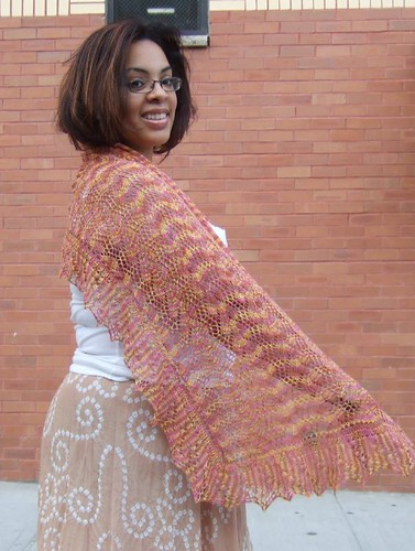 Finished Print O' The Wave Stole (4)