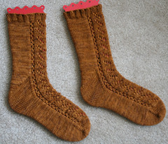 Making Tracks Socks 083007