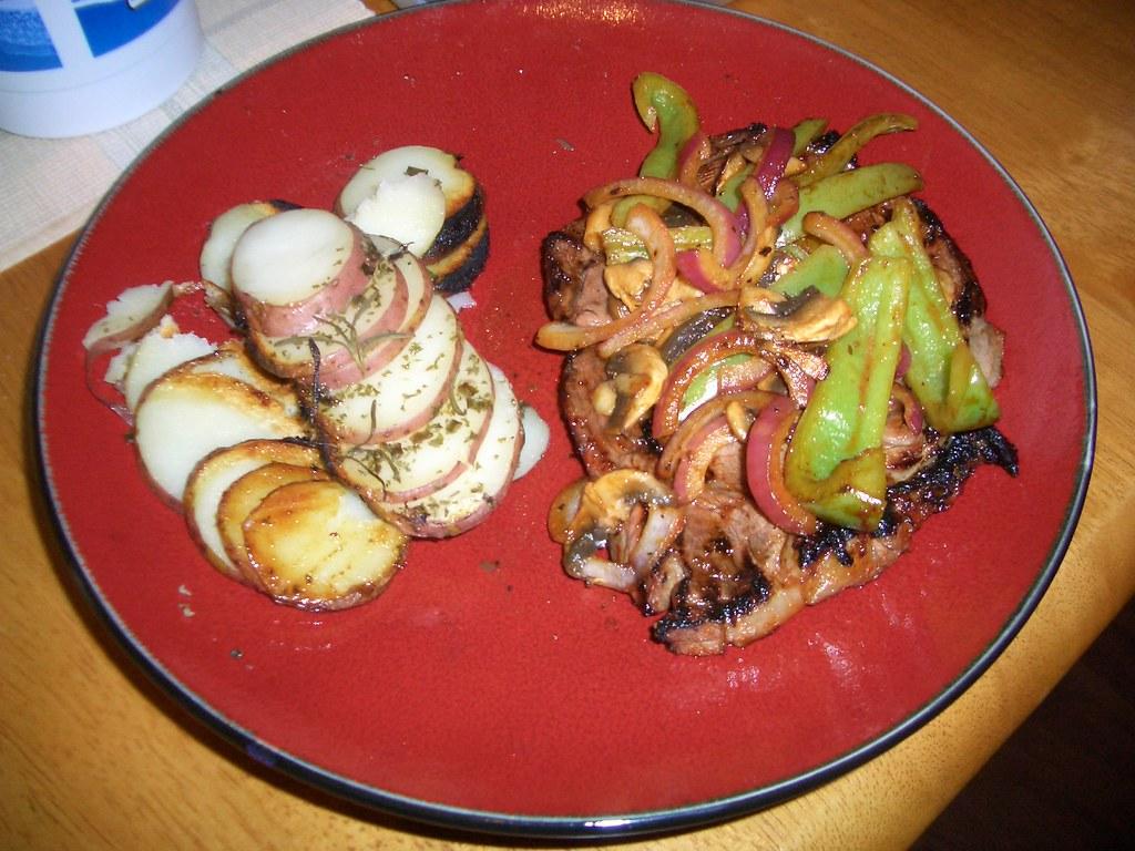 Steak, Taters, Veggies