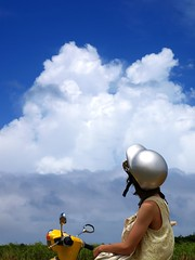 Towering cloud in summer (headpipe) Tags: island miyako irabu