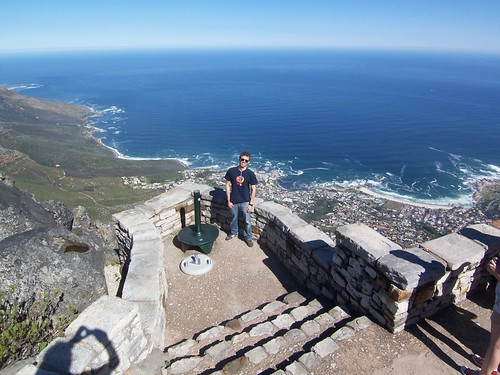 View from the top of The Table Mountain.