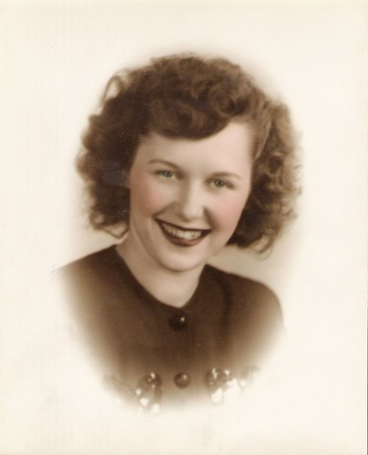 My beautiful grandmother...circa 1945