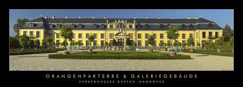 Orangenparterre & Galerie - Großer Garten Herrenhausen por Doblonaut.